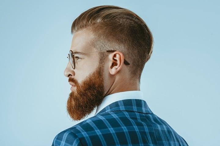 Hollywood Inspired Faded Beard