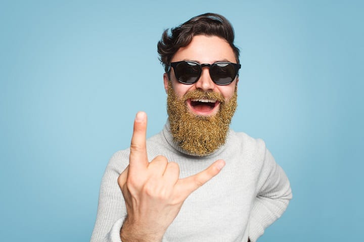 Glitter Beard – Unique Way to Express Your Fun Side