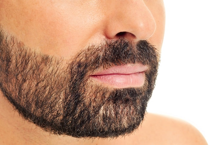 Mustache With a Heavy Stubble