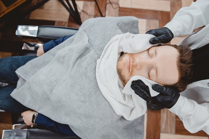 Hot Towel Shave – Experience Barbershop Shave at Home