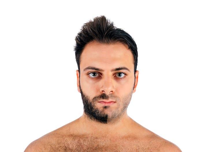 One Month Beard