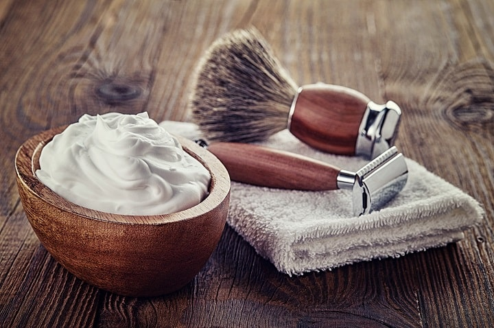 Shaving Cream as a Beard Gift